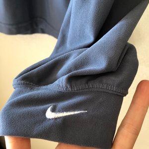 Nike Golf Men's long sleeved blue dri fit shirt